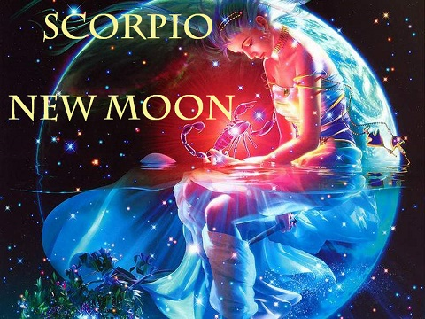 November 18, 2017 New Moon Scorpio in the Houses | Shadow Integration